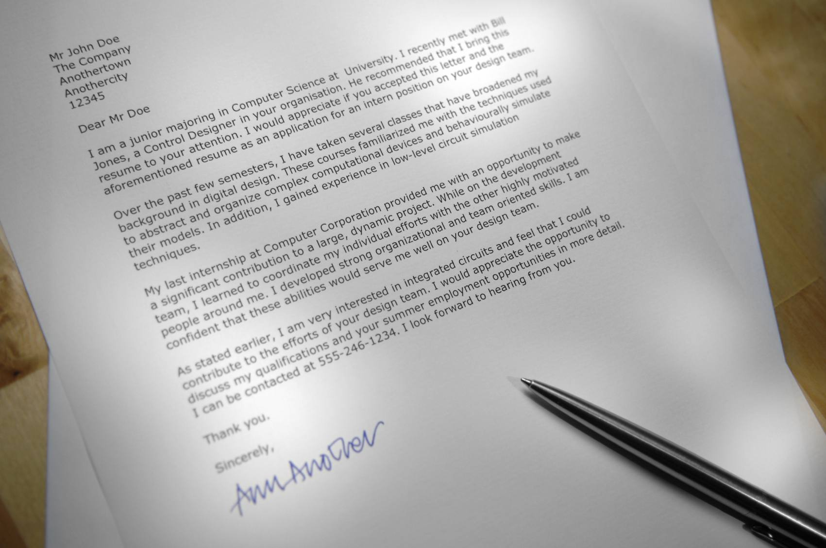 Tips For Using A Template To Write Resume Cover Letter