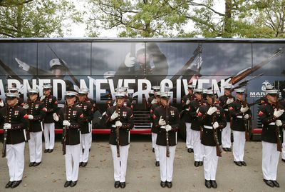 Discover the Military Marine Honor Guards