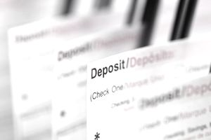 Deposits are one form of investable assets