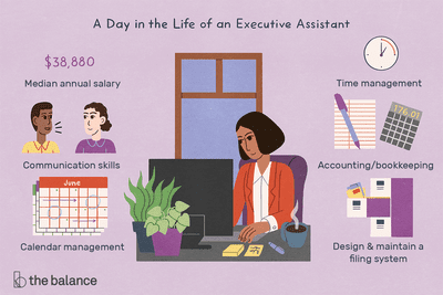 what does and executive assistant do