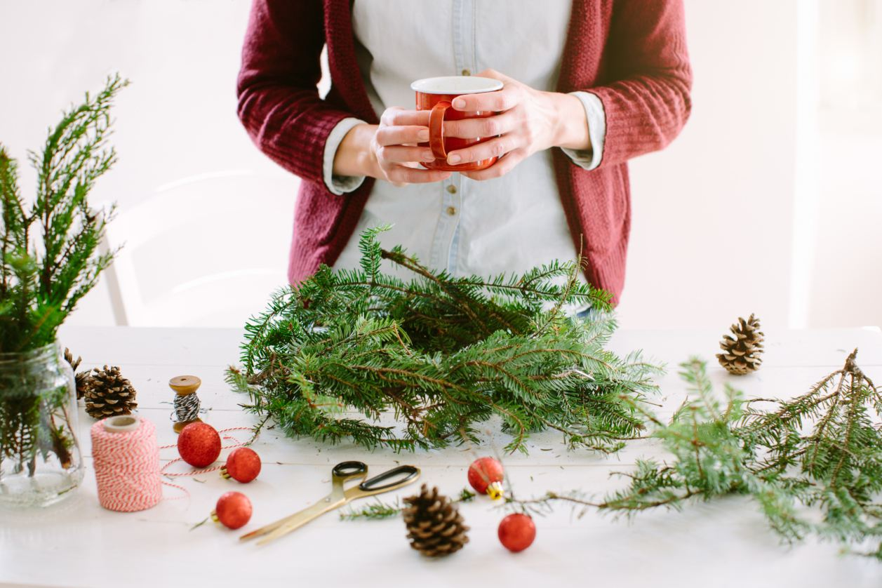 Holiday Wreath-making Business