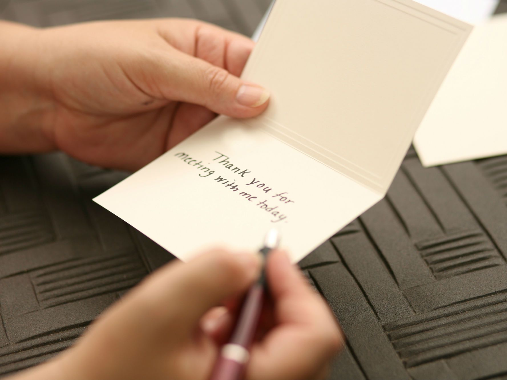 How To Write A Thank You Note Customer