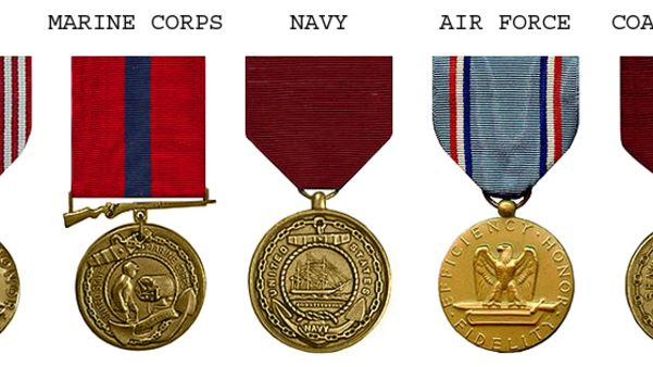 Army Achievement US Military Medal cased set