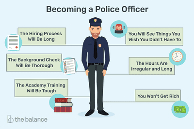 learn about becoming a police officer