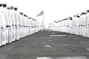 US Navy sailors