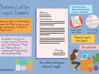 Business Letter Layout
