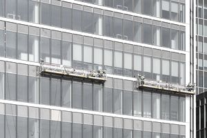 Glaziers or window washers