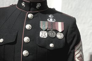 Decorated marine, Grants Pass, OR