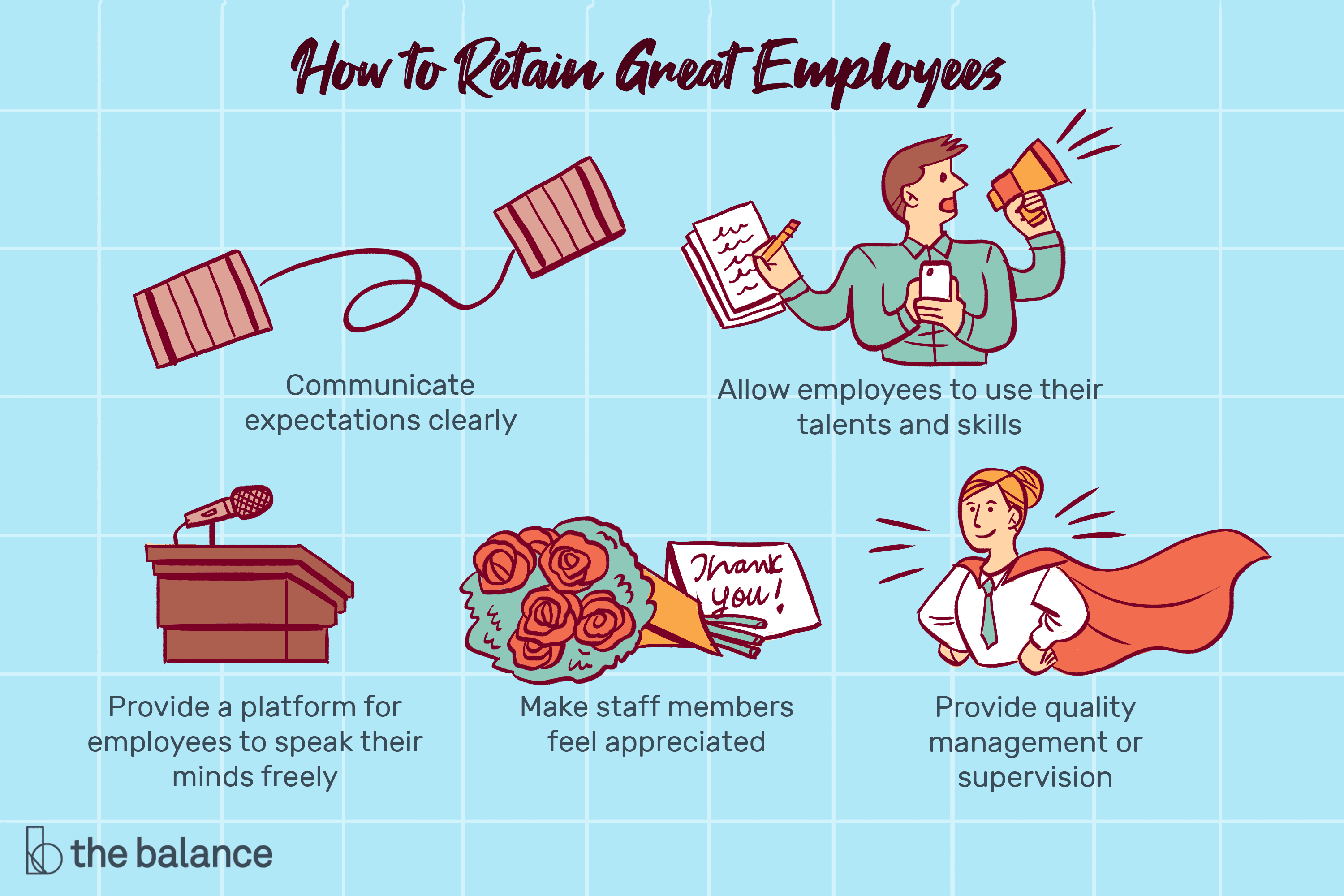 10 best ways to retain great employees