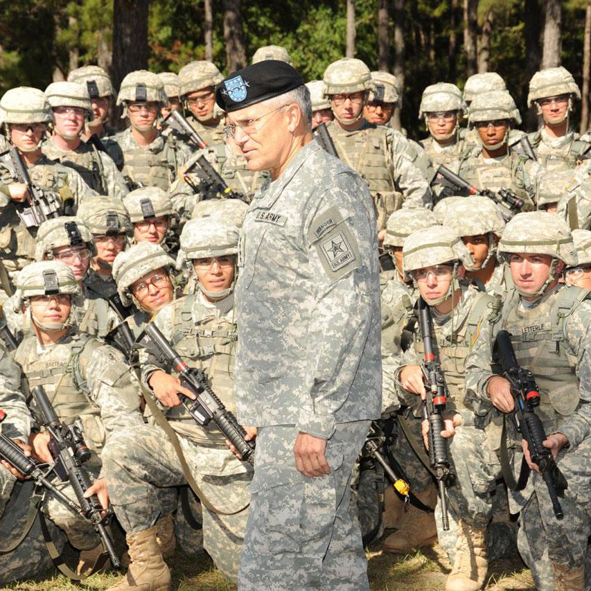 Being an Army General