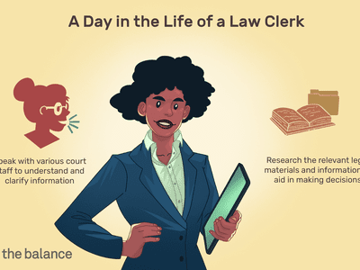 A day in the life of a law clerk: Speak with various court staff to understand and clarify information, Research the relevant legal materials and information to aid in making decisions