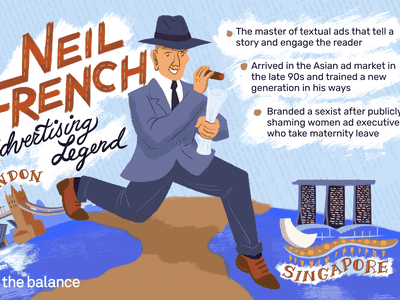 Image shows a man in a suit and a fedora carrying a cigar and a papers, he is walking from london to singapore. Text reads: