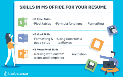 In Demand Microsoft Office Skills For Your Resume