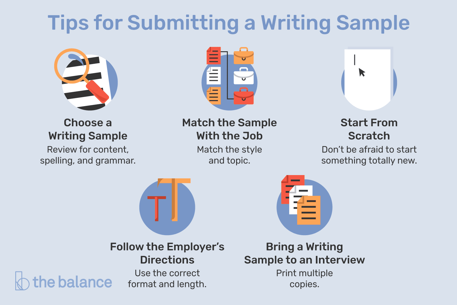 What to Know About Writing Samples When Job Hunting