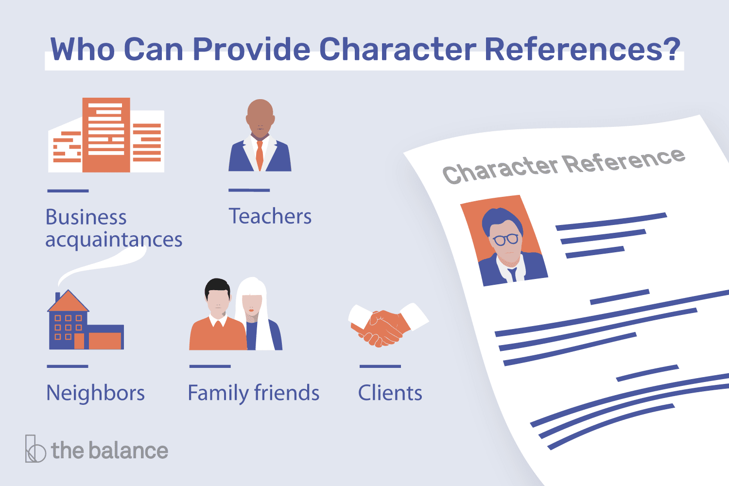 What is a character reference and who should you ask whom to ask for a character reference altavistaventures Images