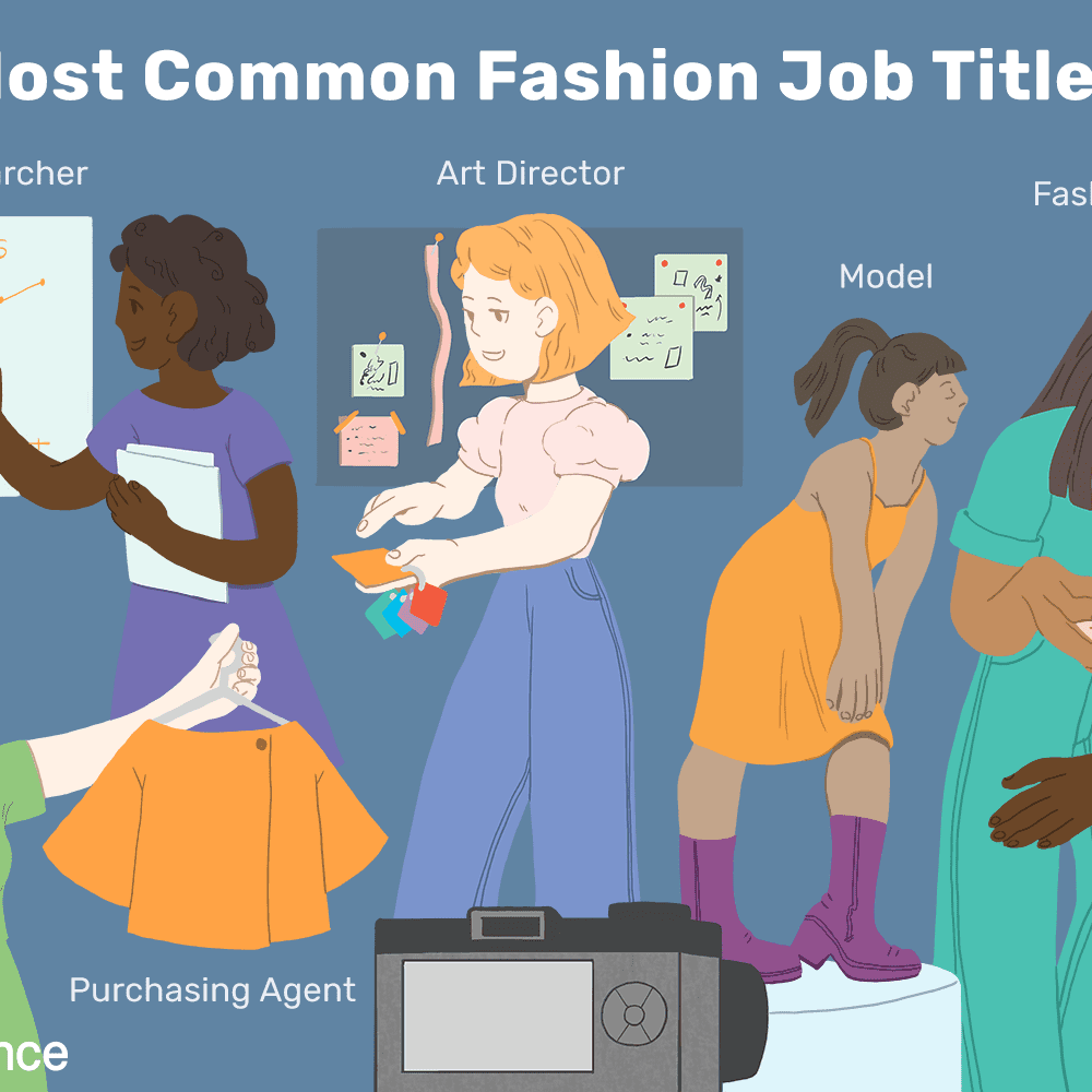 Top Jobs In The Fashion Industry