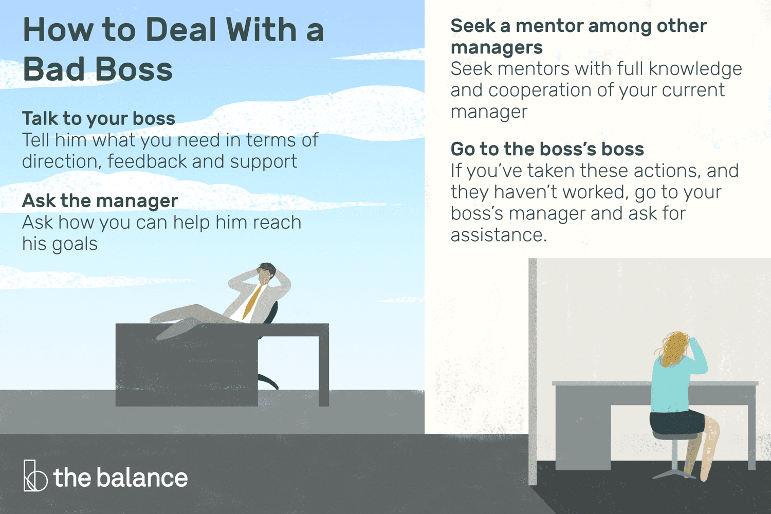 How To Professionally Deal With A Bad Boss
