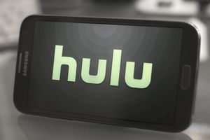 Hulu on a Samsung cell phone