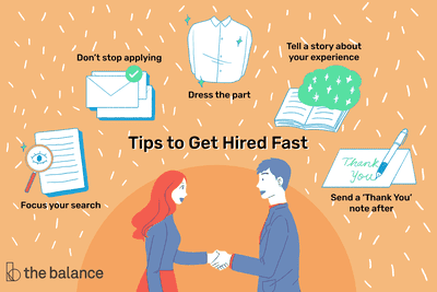 Why Some Companies Are Trying To Hire >> 15 Quick Tips That Will Help You Get Hired Fast