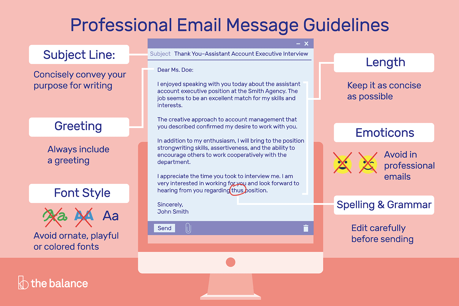 How To Write And Send Professional Email Messages