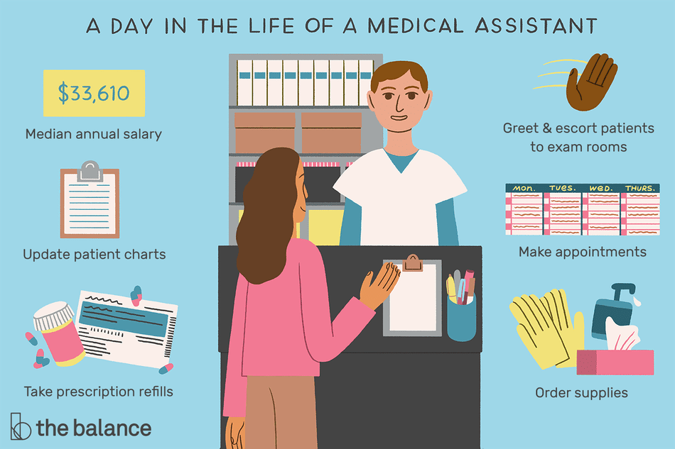 medical assistant job description  salary  u0026 more
