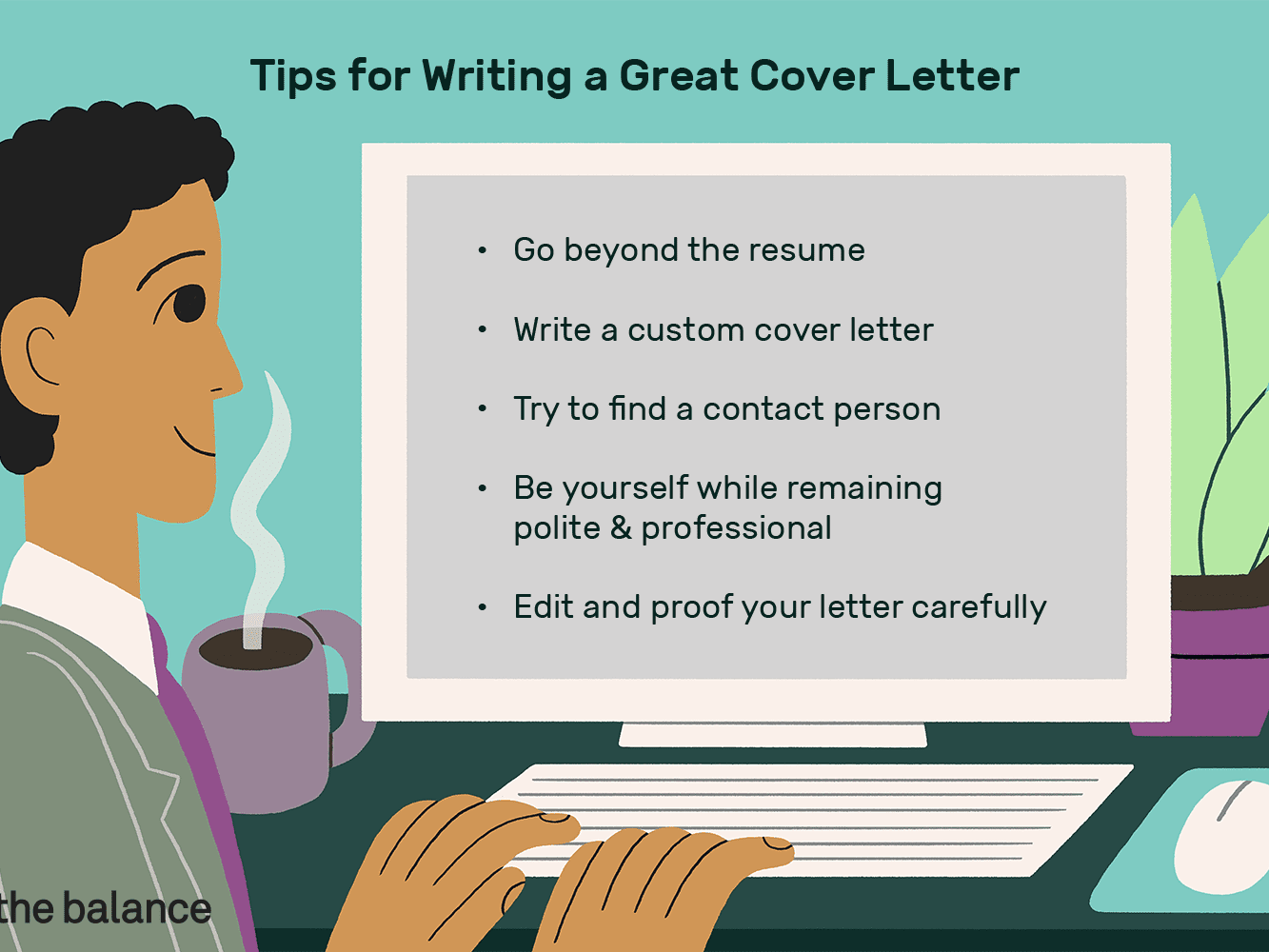 Tips To Write A Good Cover Letter from www.thebalancecareers.com