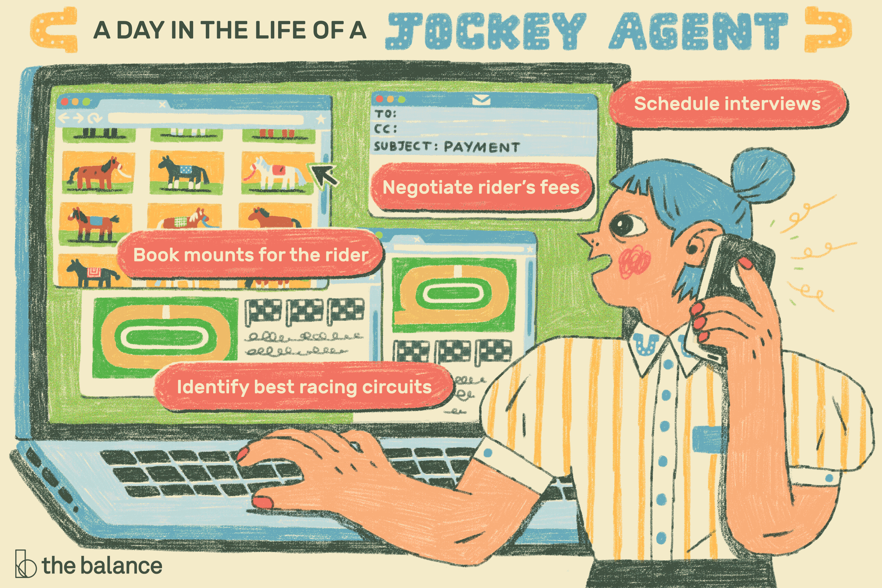 Jockey Agent Job Description: Salary, Skills, & More