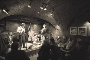 Live performance in Jazzkeller Jazz Club.