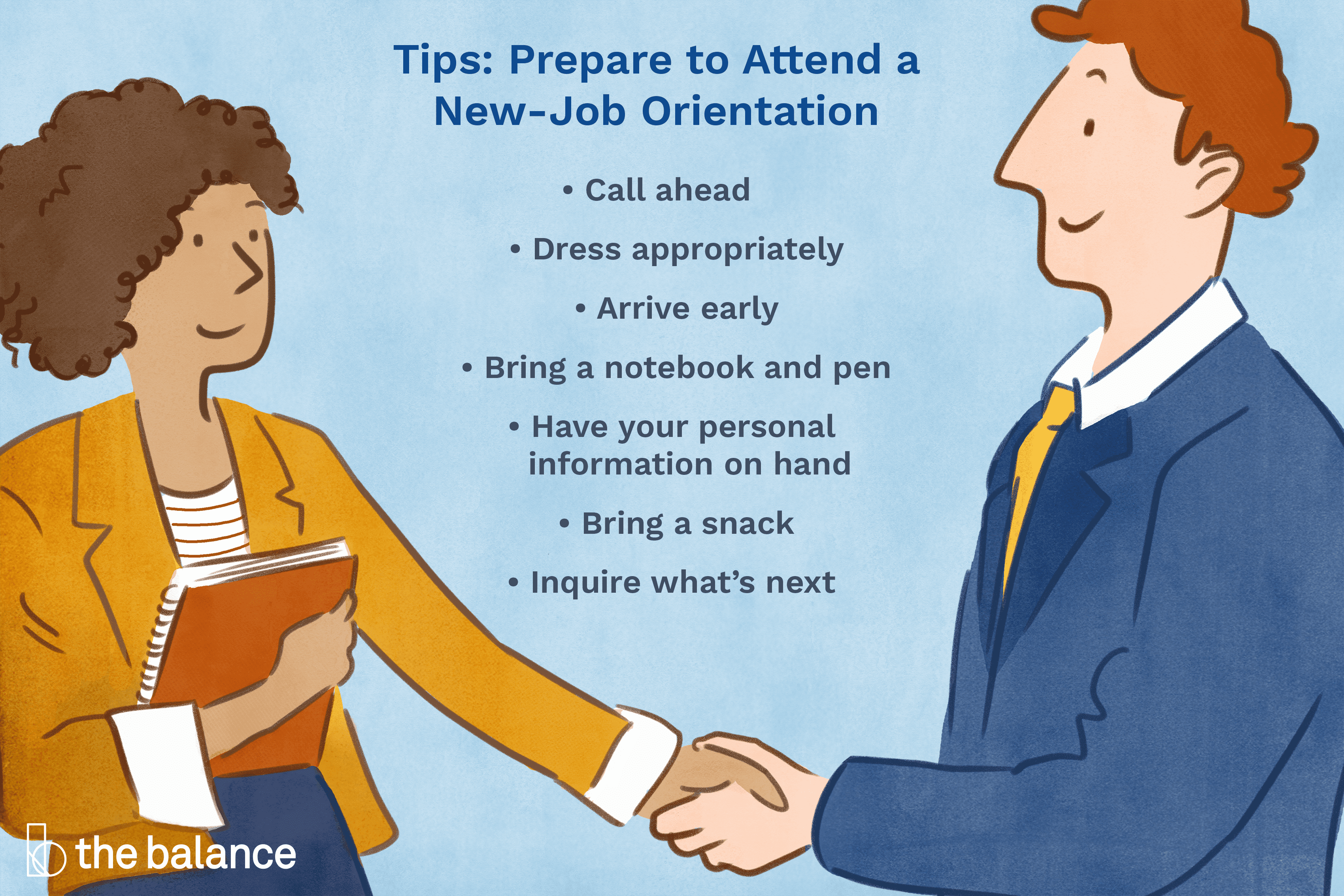 How to Prepare for New Job Orientation