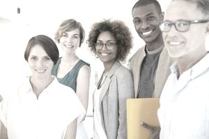 Diverse group of people who might like to serve on a nonprofit board.