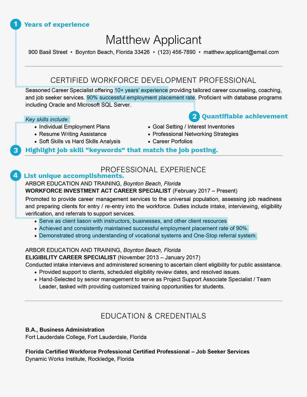 Professional Business Resume | How To Write A Resume Summary Statement With Examples