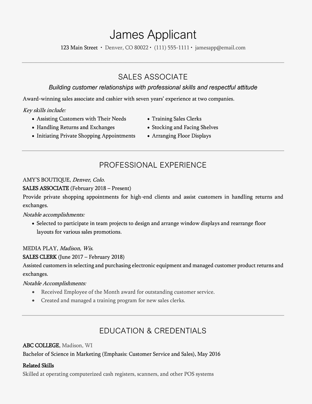 Resume Headline Examples And Writing Tips
