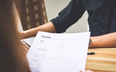 tips on how to write a one page resume