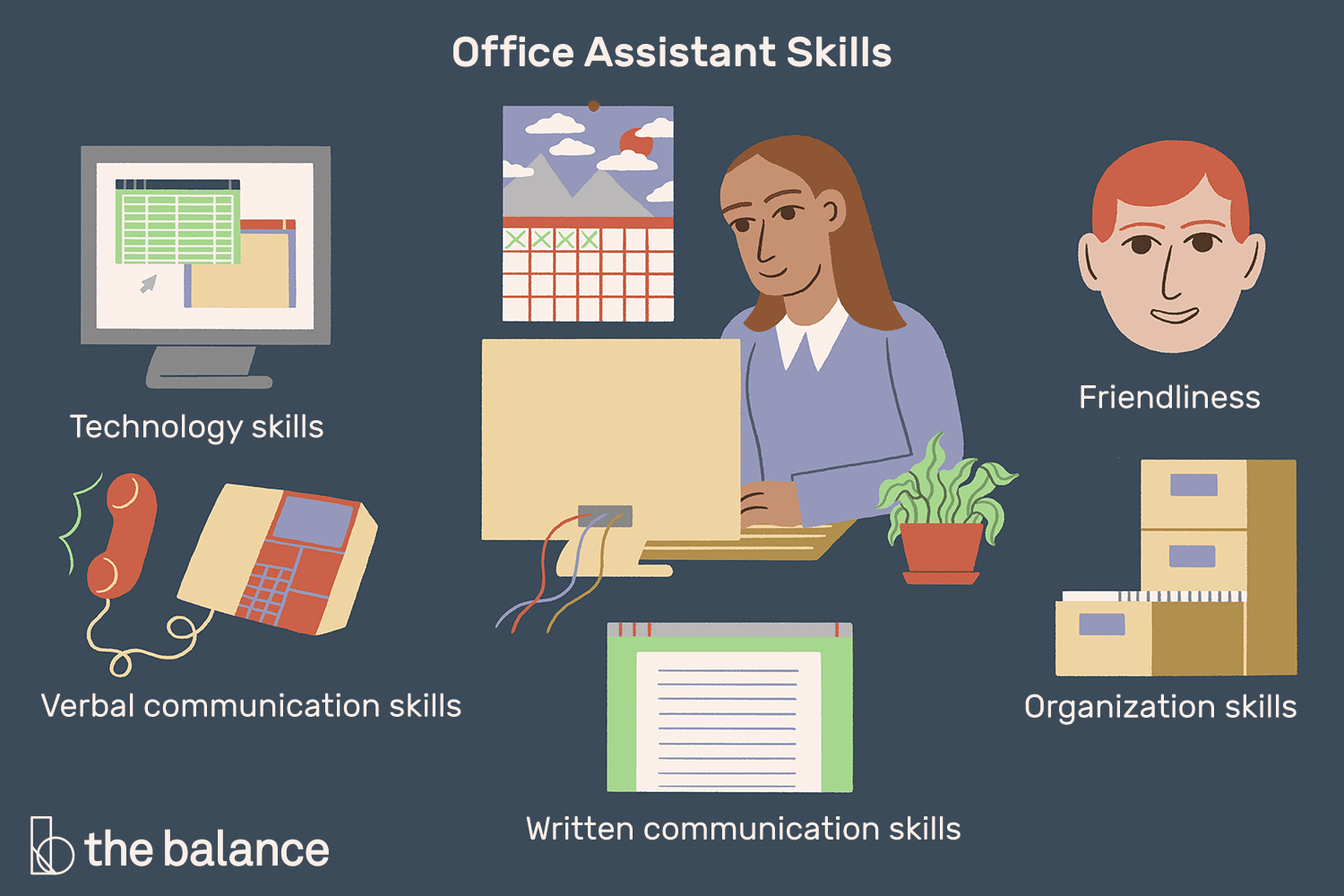 Office Assistant Skills List With Examples