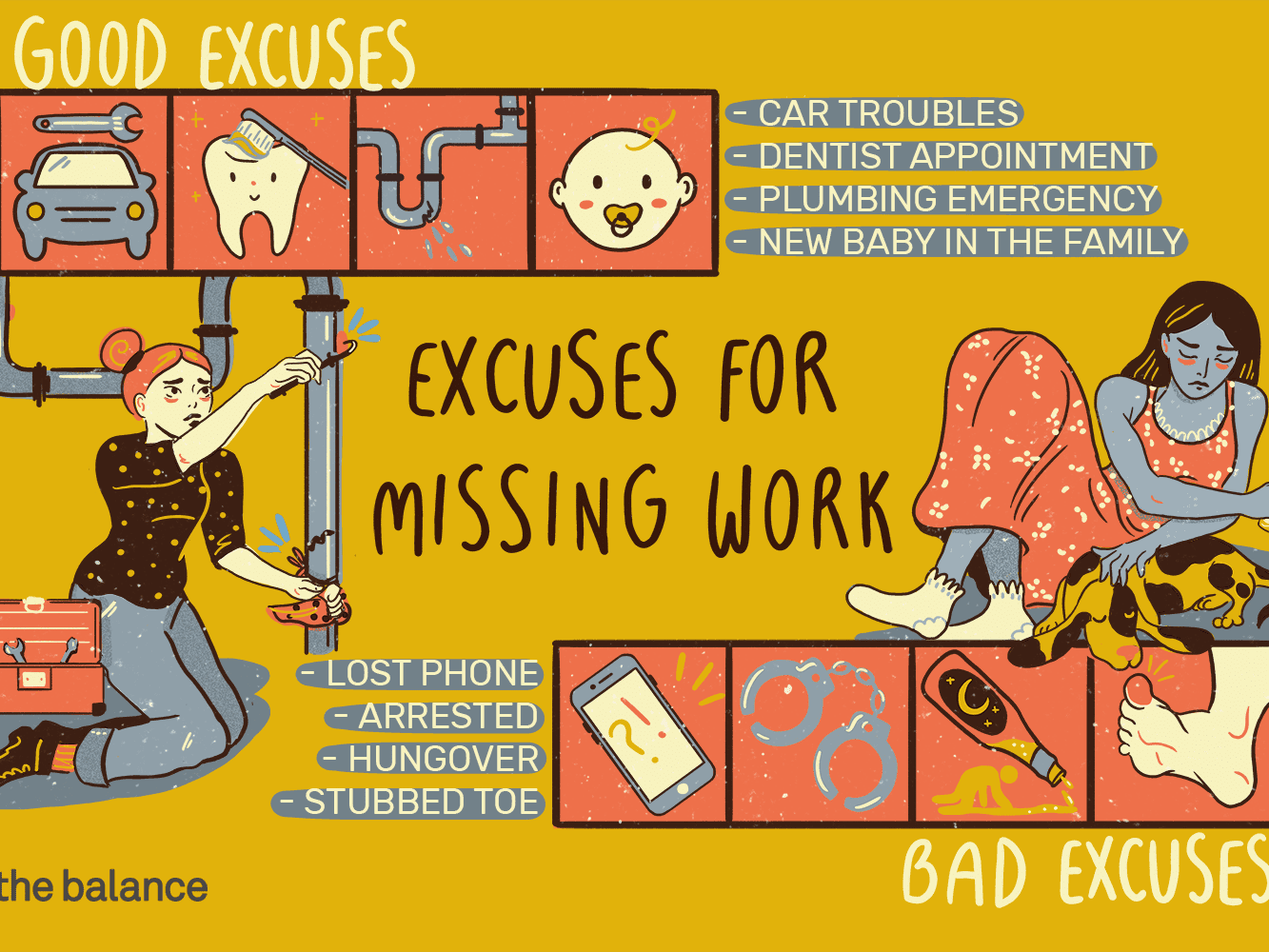 100 Images of Best Job Excuses