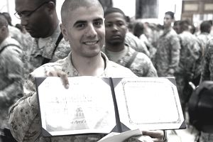 Marine Becomes Citizen