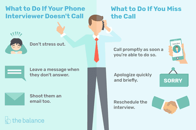 What To Do If You Miss A Job Interview Call