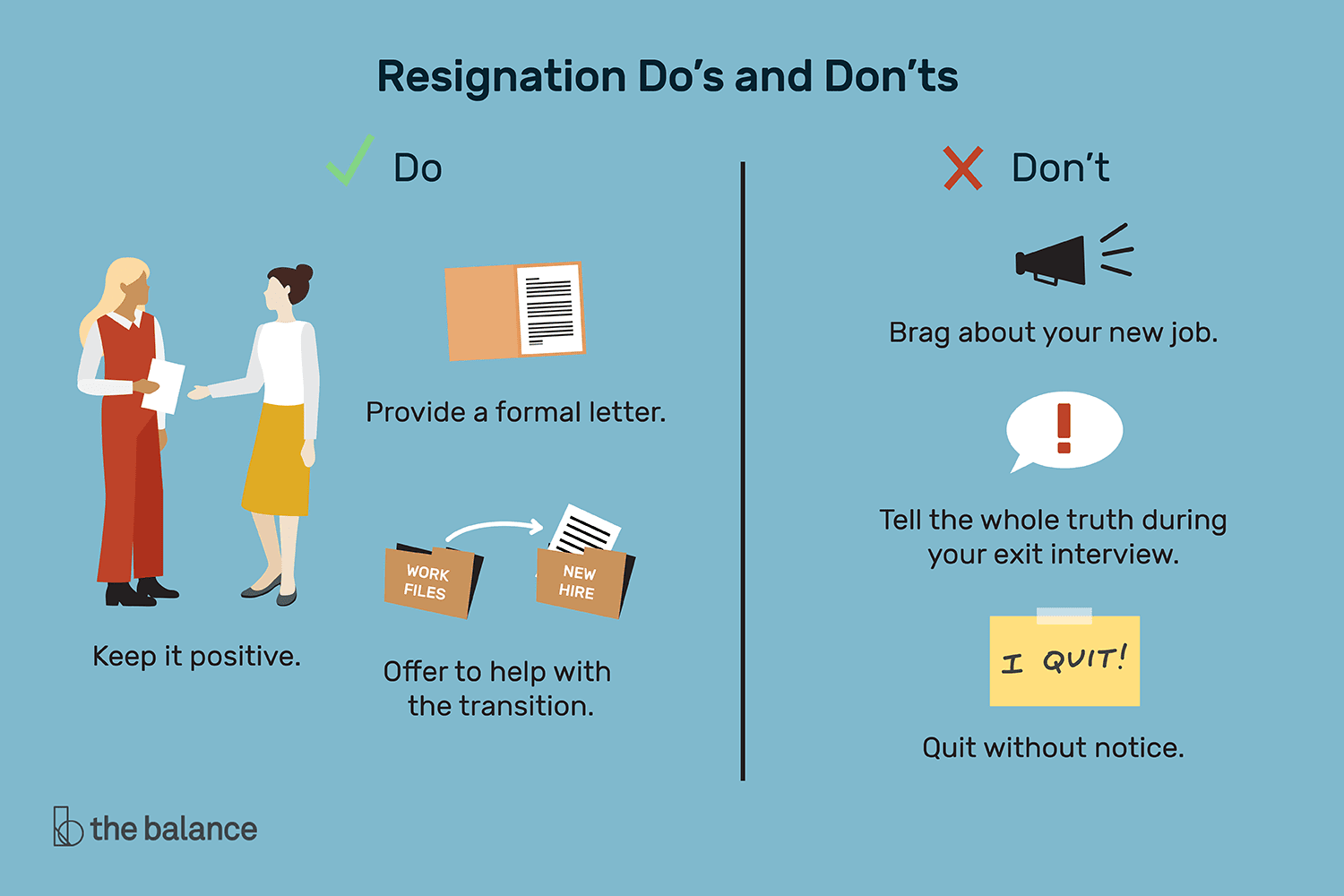 Formal Resignation Letter Sample
