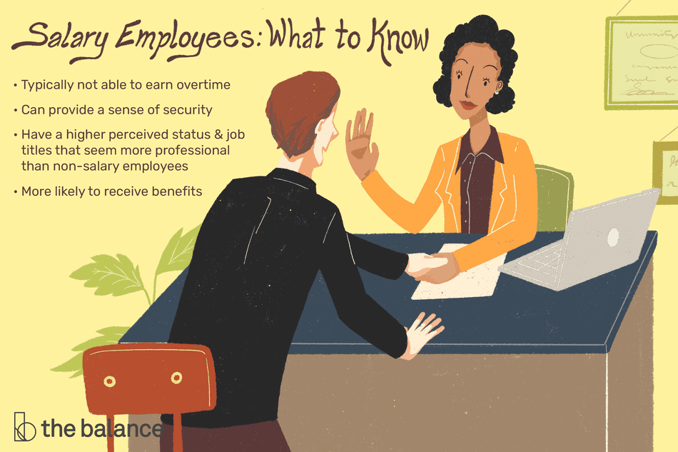 What Is A Salary Employee