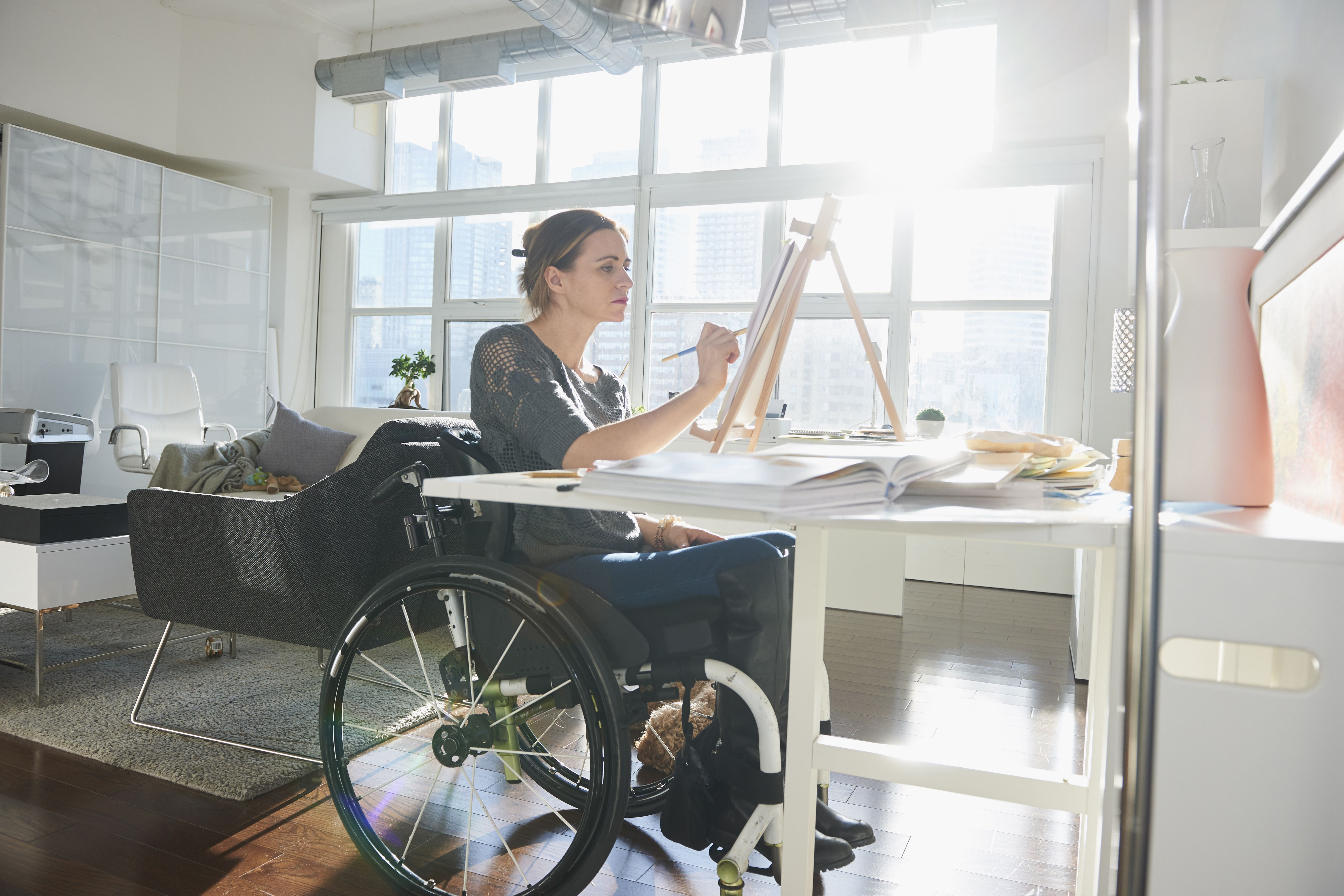 how to go on disability at work