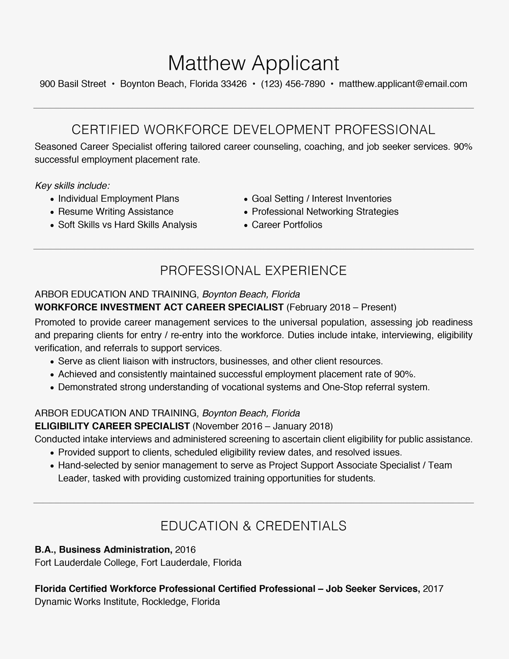 Resume Extraordinary How to Write a OnePage Resume