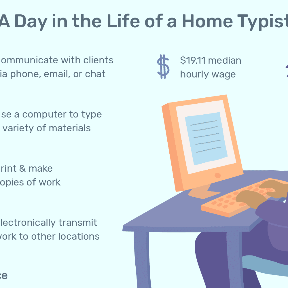 Home Typist Job Description: Salary, Skills, & More