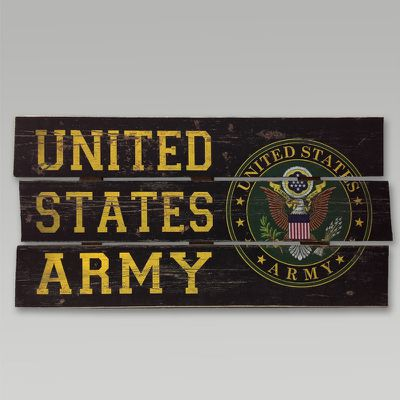 Military Wooden Signs - Military Gift Ideas - Rings, Games, Cases And More