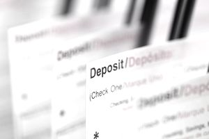 Deposits are one form of financial assets.