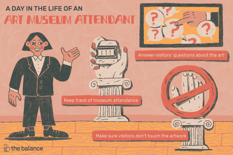 A Day in the Life of an Art Museum Attendant
