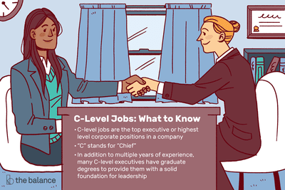 What to know about C-level jobs