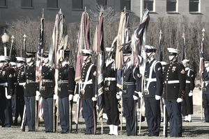 Joint Service Color Guard
