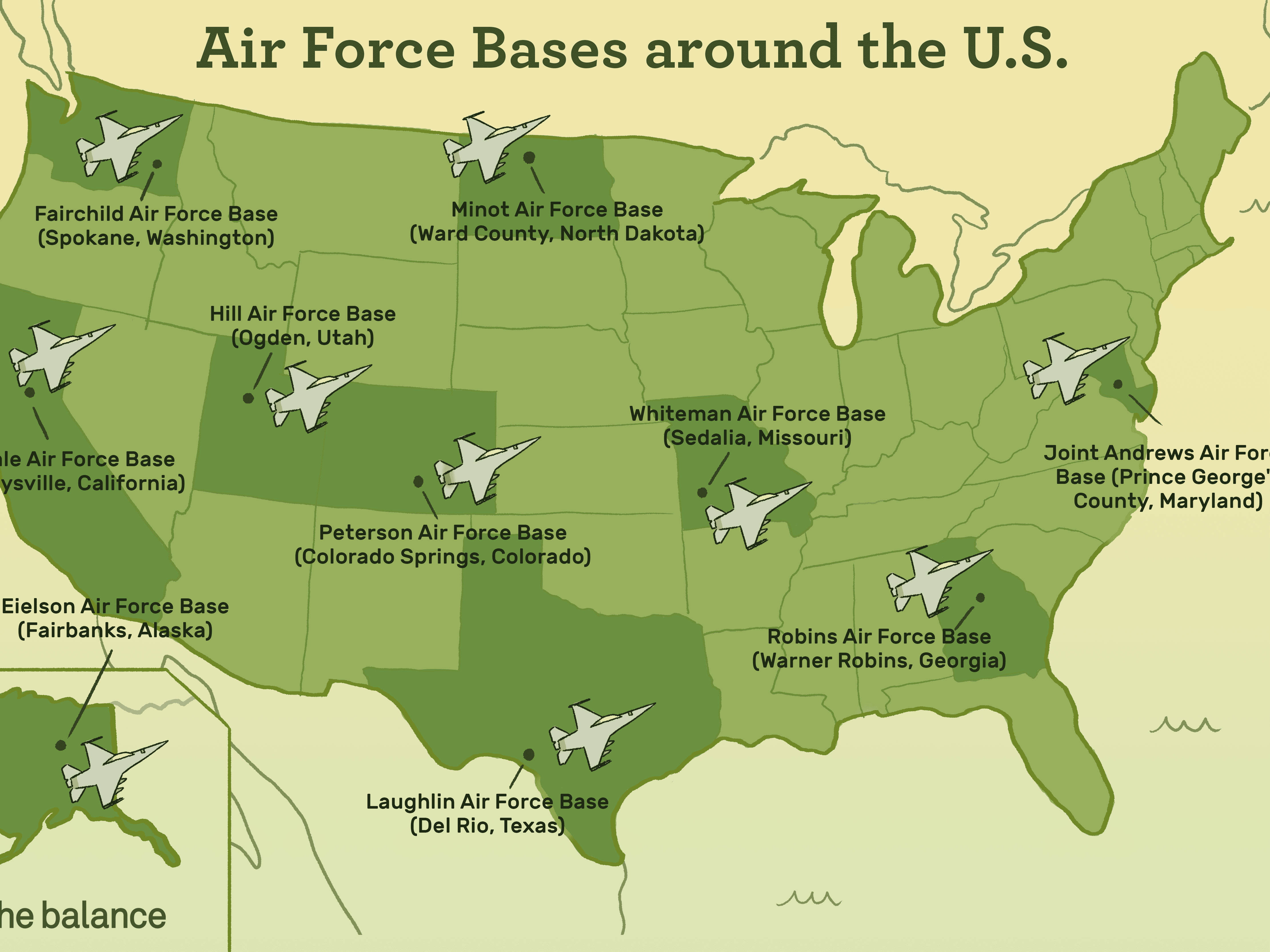 U.S. Air Force Major Bases and Installations Map Of Air Force Bases on map of all army bases, map of national guard bases, map of hill air force, map of robins air base, map of military bases, map of army bases in the united states, map of us bases, map of selfridge air base, map of air force academy colorado springs, map of coast guard air stations, map of tachikawa air base, map of manufacturing plants, map of american bases, map united states air force, map of air force installations, map of power stations, strategic air command bases, map of pacaf, argentina military bases, map of usaf installations,