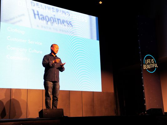 Tony Hsei, CEO of Zappos, talks about their company culture which delivers happiness.