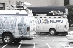 NBC affiliate NBC 10 News Van